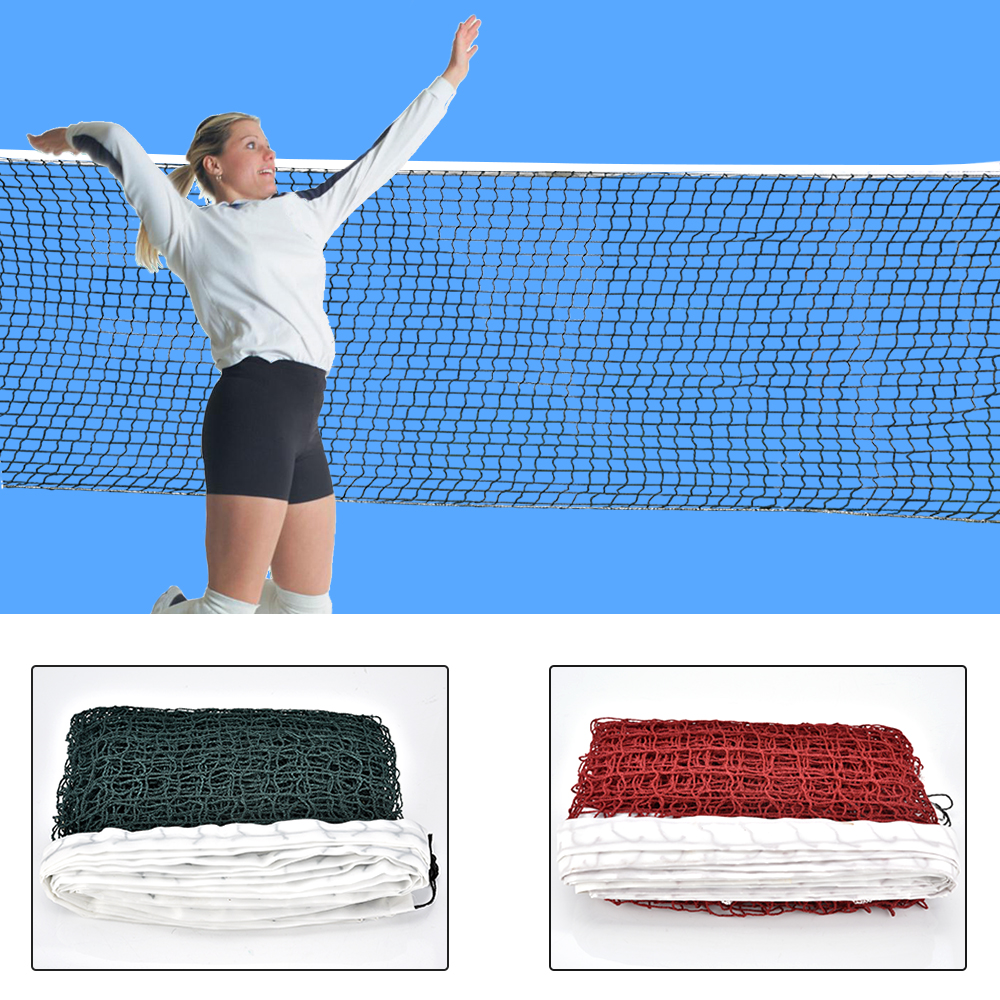 6.1mX0.75m Professional Sport Training Standard Volleyball Badminton Tennis Net