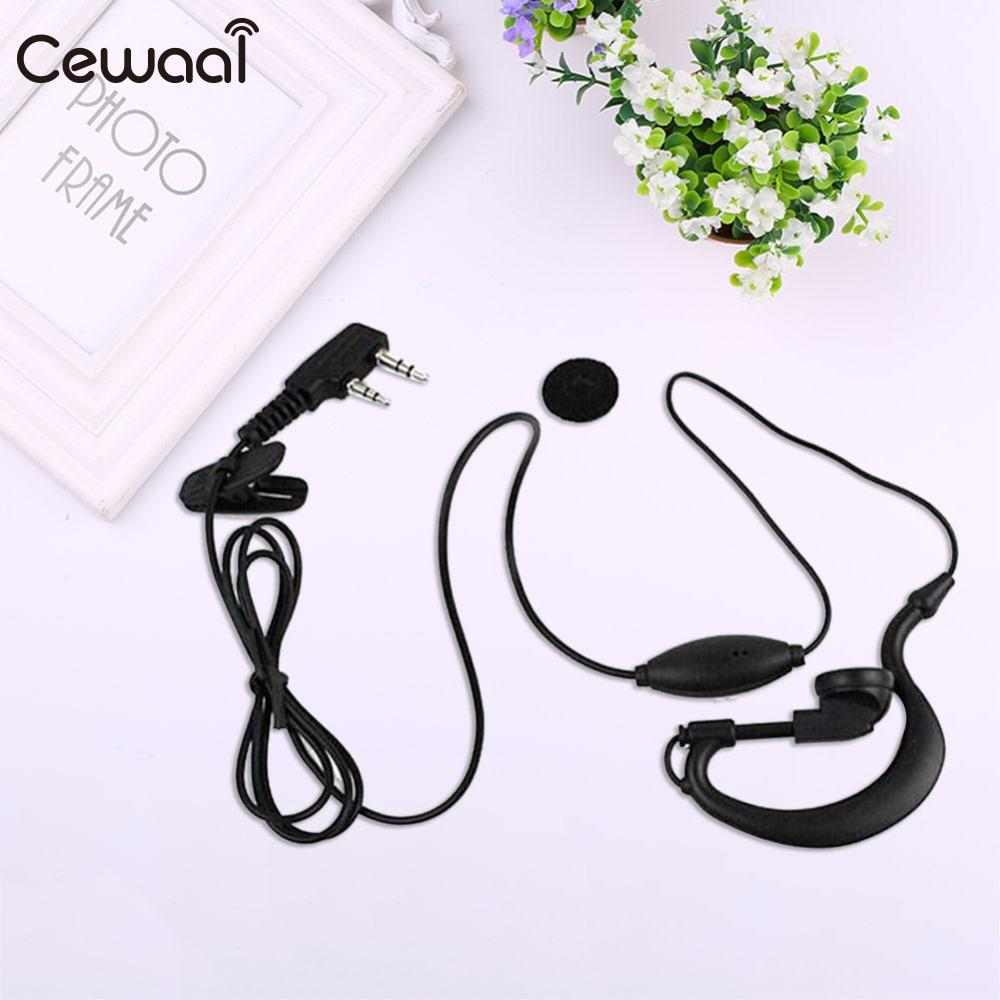 1 X 2 PIN Earpiece Headset For KENWOOD 3.5mm to 2.5mm Sound Quality Music In-Ear Gaming Earphone Headphone With Microphone