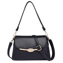 купить ladies hand bagsgenuine leather shoulder bags for women 2019 luxury handbags women crossbody bags small square messenger tote по цене 3318.43 рублей