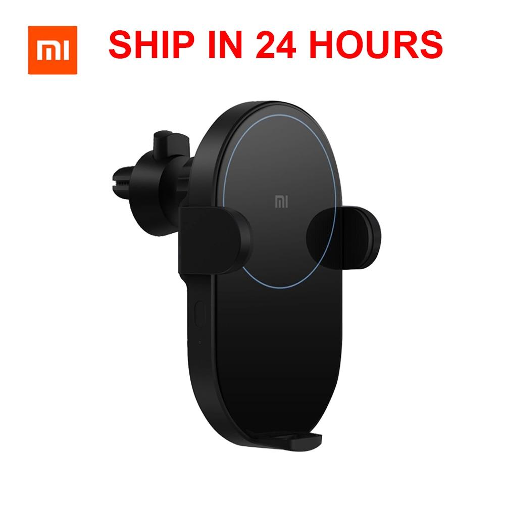 Chargeur sans fil d'origine Xiao mi mi jia 20 W Qi avec capteur charge rapide pour mi 9 mi X 2 S iPhone X XS MAX chargeur de voiture