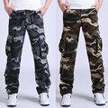 30-44 Alta Calidad de Los Hombres joggers Pantalones de Carga Militar para Los Hombres de varios Monos de bolsillo táctico Del Ejército Pantalones de Camuflaje moda m8