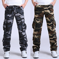 30-44 High Quality Men's Cargo joggers Pants Military for Men multi pocket Overalls tactical Army Trousers Camouflage fashion m8