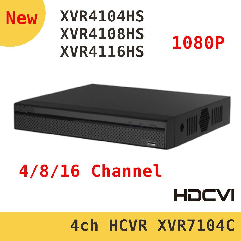Original DH XVR video recorder XVR4104HS XVR4108HS XVR4116HS 4ch 8ch 16ch 1080P Support HDCVI/ AHD/TVI/CVBS/IP Camera dahua xvr video recorder xvr5408l xvr5416l xvr5432l 8ch 16ch 32ch 1080p support hdcvi ahd tvi cvbs ip video inputs