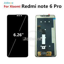 цена на For Xiaomi Redmi Note 6 Pro LCD Display Touch Screen Digitizer Assembly for Redmi note6 Pro Global lcd Assembly Repair Parts