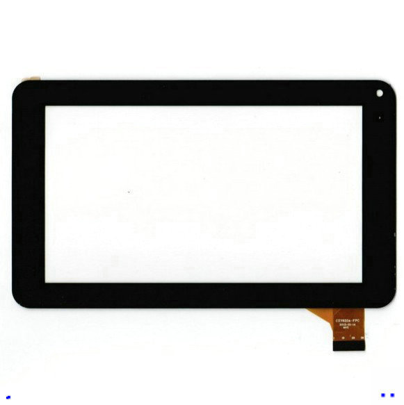 Free Film + New Touch Screen Digitizer For 7 Denver TAQ-70242 TAQ 70242 Tablet Panel Glass Sensor Replacement Free Shipping original touch screen panel digitizer glass sensor replacement for 7 megafon login 3 mt4a login3 tablet free shipping