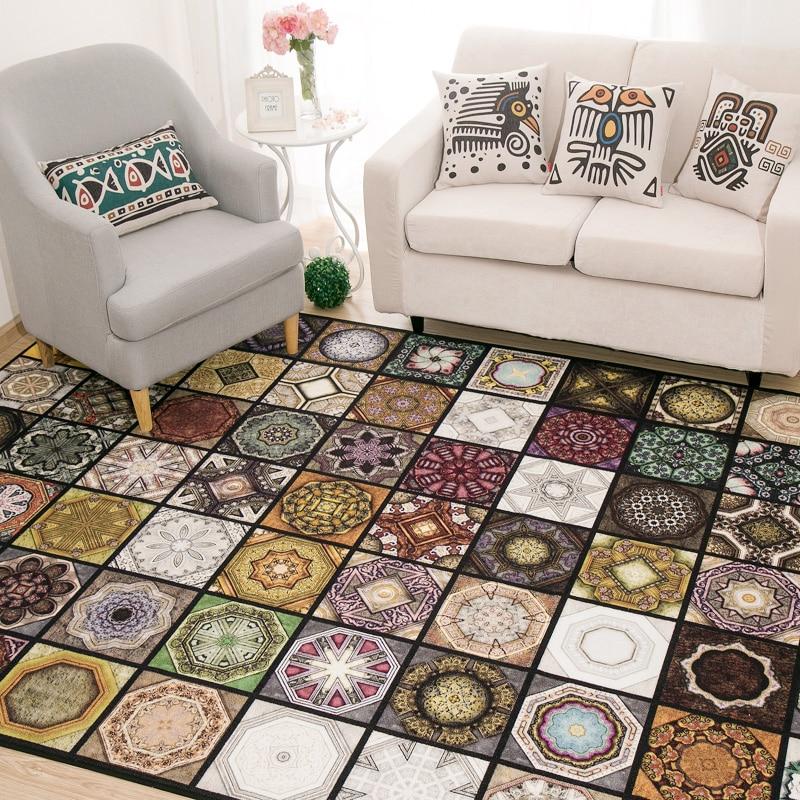 Original Vintage Exotic Fashion Patterned Carpet For