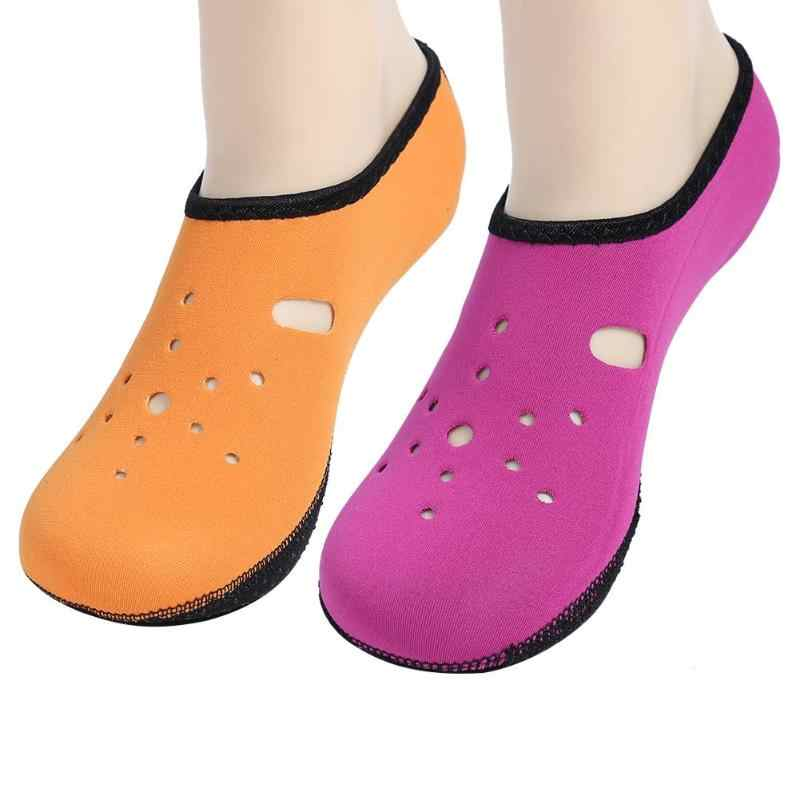 Su Sporları dalış çorapları Anti Patinaj plaj ayakkabısı Yüzme Sörf Neopren Çorap Yetişkin Dalış Botları dalış elbisesi Ayakkabı su ayakkabısı