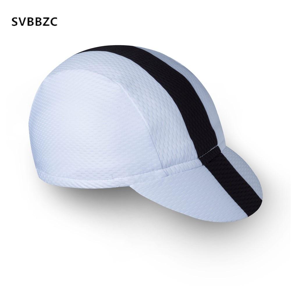 2018 Cycling Hot Men Cycling Bike Bicycle Cap Hat cycling cap hat Scarf Cycling Wear White Black
