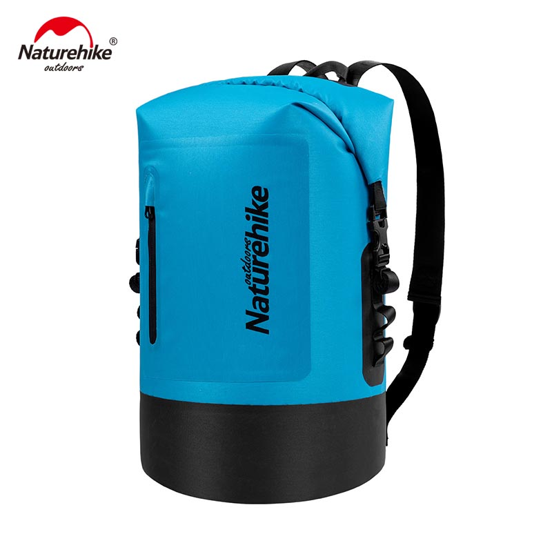 Naturehike Dry Wet Separation Waterproof Bags Waterproof Bag Dry Bag Large Capacity Bag Outdoor Portable Drift 20L 30L 40L