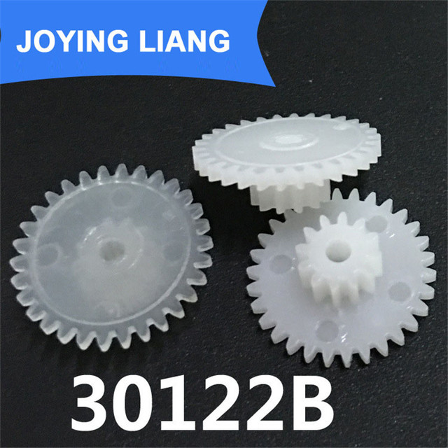 30122b Gear Module 0 5 Plastic Gear Double Cone  Teeth 2 05mm Shaft