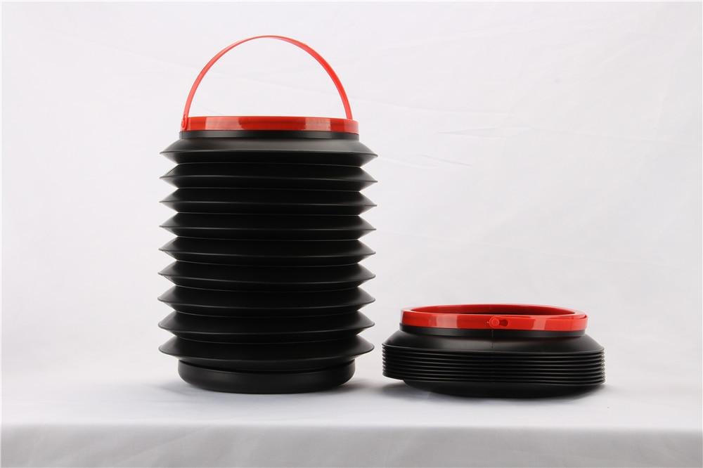 Hot selling Car Foldable 4L Rubbish Trash Bin Food Water Container Barrel Dustbin Storage Bag