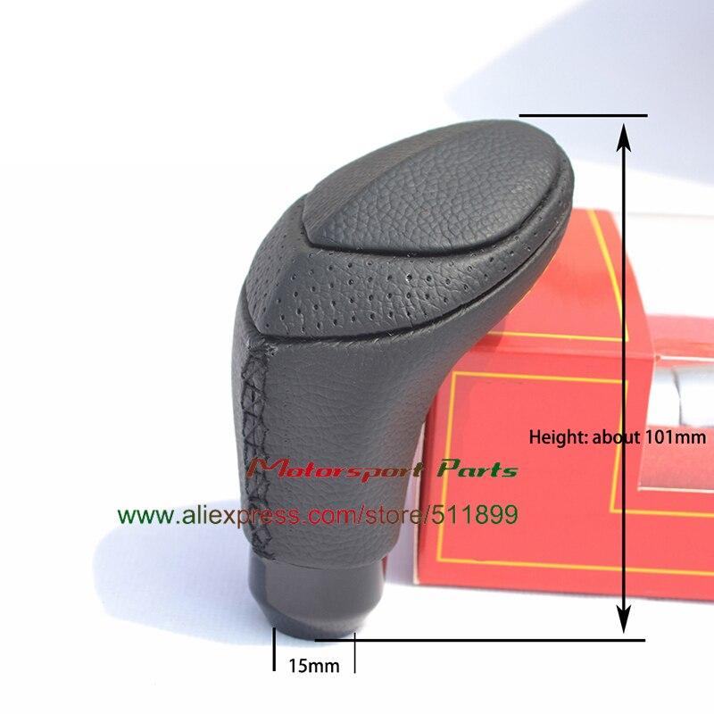 Универсальный гоночный автомобиль ручки переключения передач кожаная рукоятка рычага переключения передач ручка переключения рулевого механизма автомобиля тип змеи