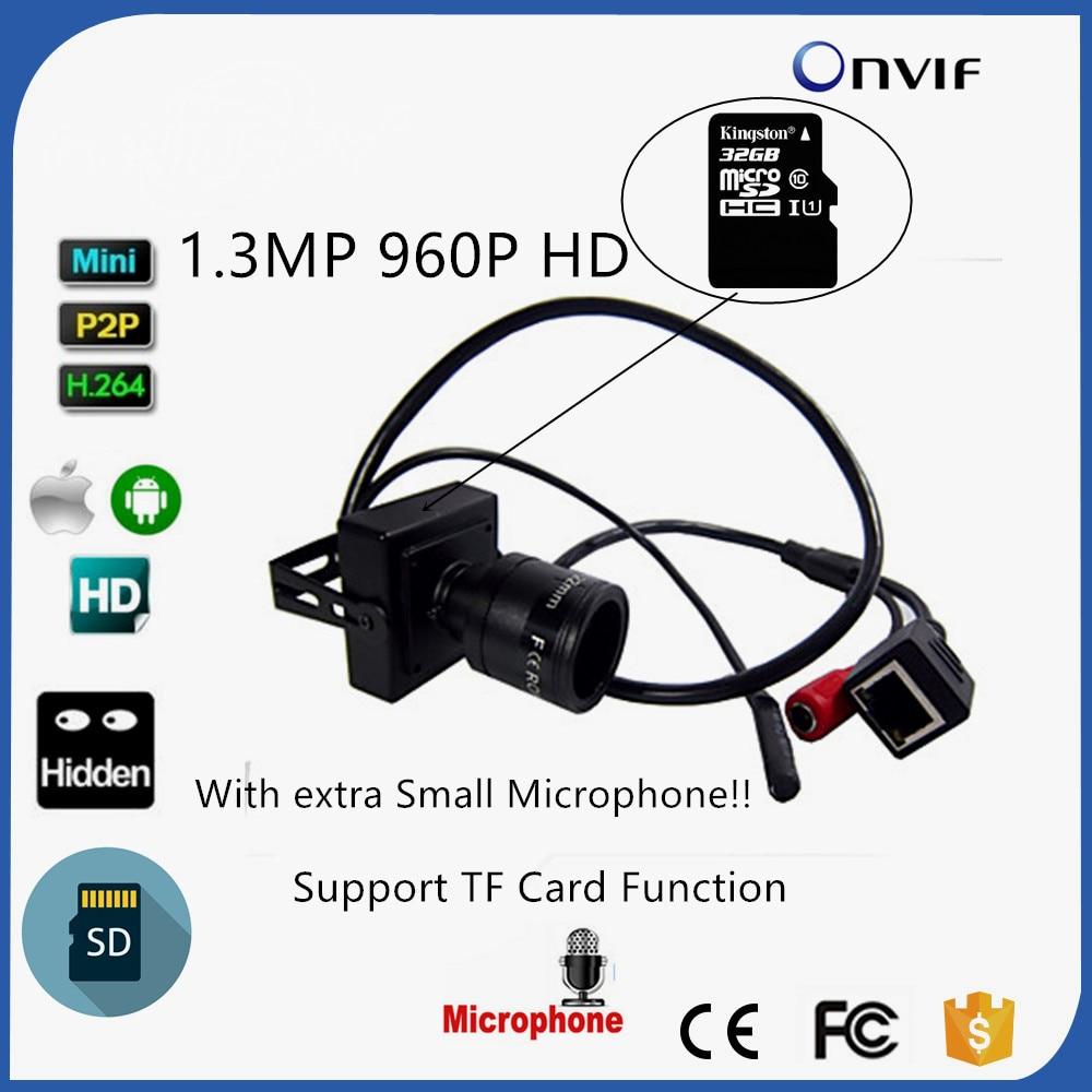 Mini Size CAMHI P2P Onvif TF Card Slot Audio Home Security 1.3MP 960P SD Card Mini IP Camera 9-22mm Varifocal Lens Cam скатерти niklen скатерть 110х145см