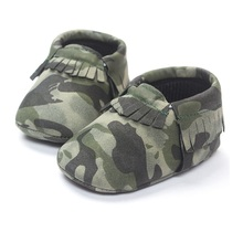 Camouflage Baby Boy Shoe Top Quality Infant First Walkers 0-