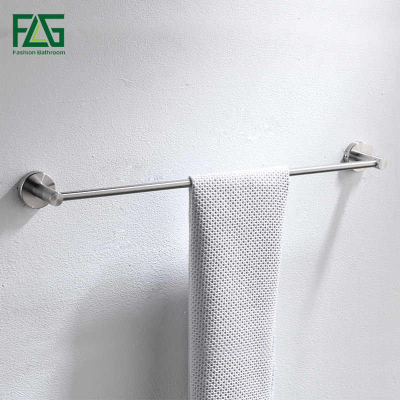 FLG 304 Edelstahl Bad Hardware Sets Gebürstet Nickel Wand Halterung Handtuch Bar Robe haken Papier Halter Badezimmer Zubehör Set