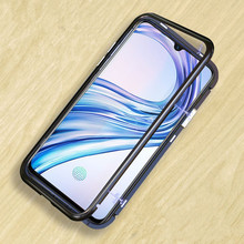 Mzxtby Magnetic Glass Phone Case For Samsung S7 S8 S9 J4 J6 J8 2018 A7 A8 A9 S10 plus C9 C7 pro Case Cover Shell Accessories(China)