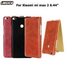 Xiao Mi Max 2 Чехол Флип кожаный телефон случаях для Xiaomi Mi Max 2 Max2 IMUCA крышка Капа