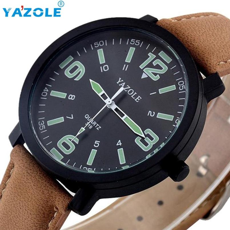 YAZOLE Wrist Watch Men Luxury Wristwatch Male Clock Quartz Watch Hodinky Quartz-watch Relogio Masculino s23