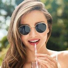2019 Fashion Oval Sunglasses Women Brand Designe Small Metal Frame Steampunk Retro Sun Glasses Female Oculos De Sol UV400 с и трушин метод конечных элементов теория и задачи