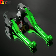 For KAWASAKI KLX 450R KLX450R 2008-2015 Pitvot Dirt Brake Clutch Lever Motorbike Accessories Brake Levers Free Shipping