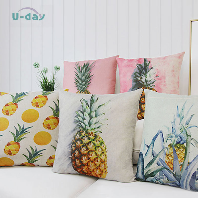 and shaped shapes pillows pineapple throw pin pillow
