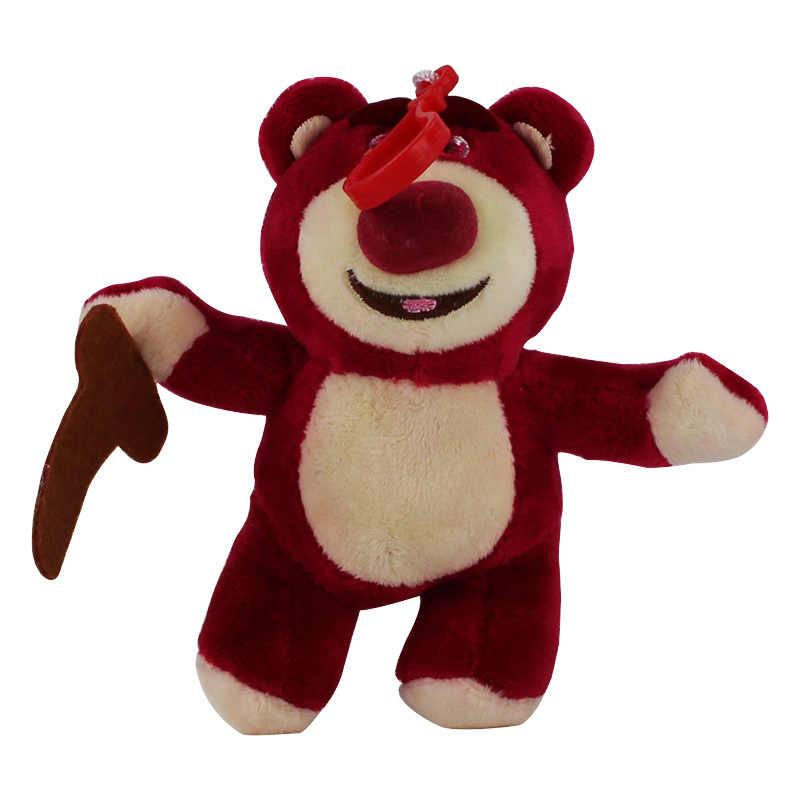 12 см оригинальный Toy Story Lotso Клубника Медведь Q милый каваи вещи Плюшевые Игрушки для маленьких девочек подарок на день рождения