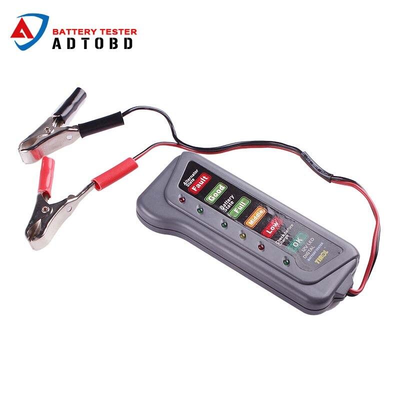 Battery Test Tools : V car battery tester analyzer digital