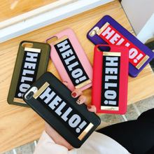 Fashion Simple New Couple Motion Wristband Phone Cover Case For Iphone X Xs Max Xr 10 8 7 6 6s Plus Luxury Leather Coque Fundas