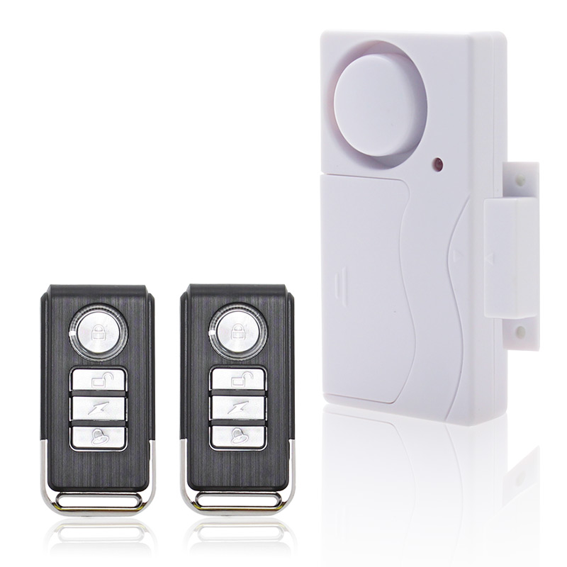Door Window Entry Security ABS Wireless Remote Control ...