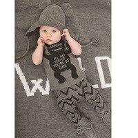 Newborn Infant Clothes Fashion Abbigliamento Neonato Short Sleeve Casaco Infantil Two Piece t-Shirt+Pants Sets Boys Girls