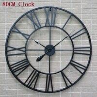 80CM Large Wall Clock Saat Clock Reloj Duvar Saati Digital Wall Clocks Horloge Murale Relogio de Parede Living room decoration