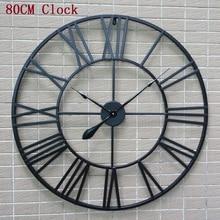 Saat Large Wall Clock Reloj Relogio de Parede Horloge Murale Pared Duvar Saati Living room