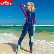 SBART Quick-dry Women Lycra Wetsuit Full Body Windsurfing Spearfishing Swimsuits Jumpsuit Diving Kitesurf Triathlon Wet Suit sbart women lycra wetsuit quick dry one piece surfing spearfishing swimsuits jumpsuit padded scuba diving triathlon wet suit