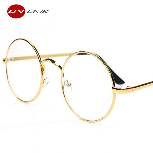 Uvlaik Round Spectacle Glasses Frames For Harry Potter