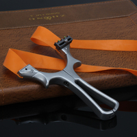 New High Quality Detachable Slingshot + 5 Flat Rubber Bands Multiple Aiming Sight For Hunting Shooting Outdoors