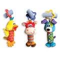 Baby Toys Погремушки Звон Колокольчик Многофункциональный Плюшевые Игрушки Детские Коляски Погремушки Игрушки Утки, палевый, собака для Детей