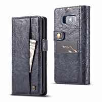 For Samsung Galaxy S8 Plus Luxury Multifunctional Card Pocket Wallet Flip Leather Case Cover Pouch Phone Bag Shells Fundas Capa