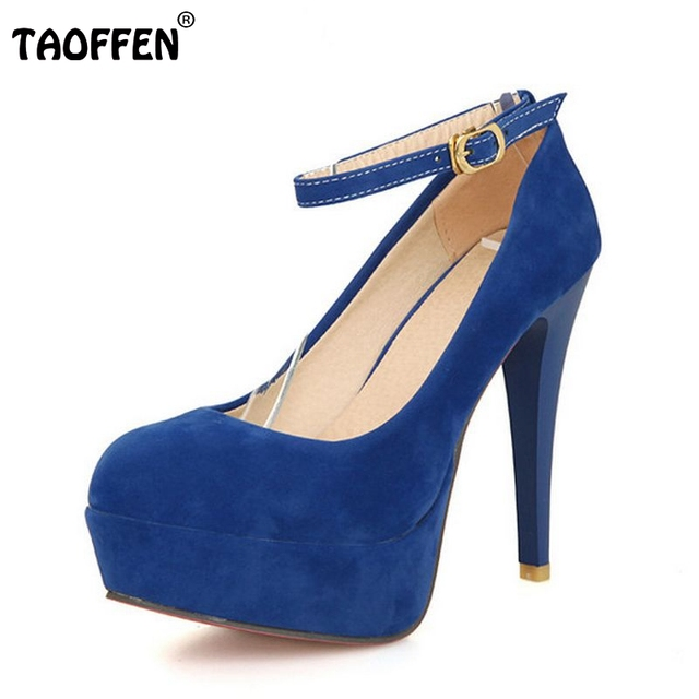women platform stiletto high heel shoes footwear sexy brand party spring fashion heeled pumps heels shoes size 32-43 P17016