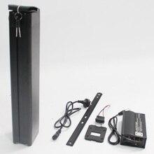 Plus grande Capacité 36 V 29AH Électrique Batteries De Vélo tube de Selle Au Lithium Ion Batterie 29PF Cellulaire Li-ion Batterie avec BMS et 5A chargeur