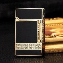 PING Sound Refillable Butane Gas Lighters Novelty Lighter Windproof Pipe Lighter Gas Cigarette Lighter