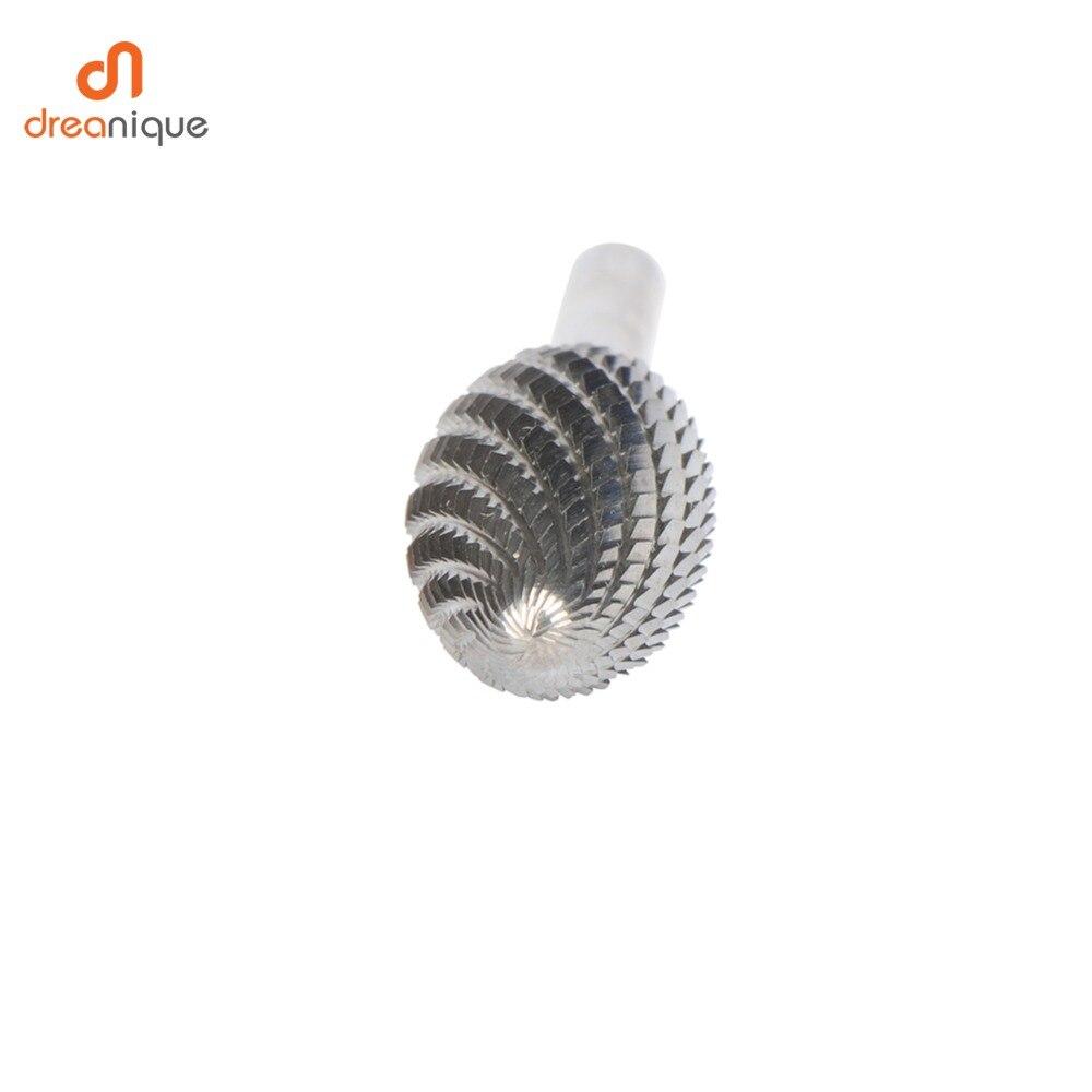 Купить с кэшбэком All types 1 pcs tungsten carbide rotary burrs 6mm shank Metal Diamond Grinding Woodworking Milling Cutters rotary bits