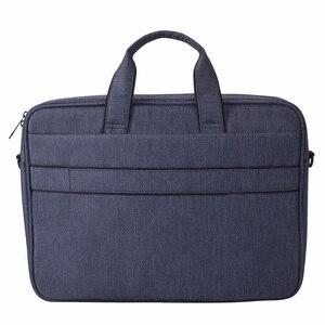 Image 4 - 2019 большая сумка для ноутбука Dell Asus Lenovo 15,6 дюймов плечевой ремень для ноутбука сумка чехол для Macbook Air Pro 13