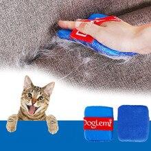 Расческа для удаления волос для собак, кошек, грумеров, удаления пыли, головы, вшей, для собак, липкая очистка, артефакт, перчатки для домашних животных, peine para gato