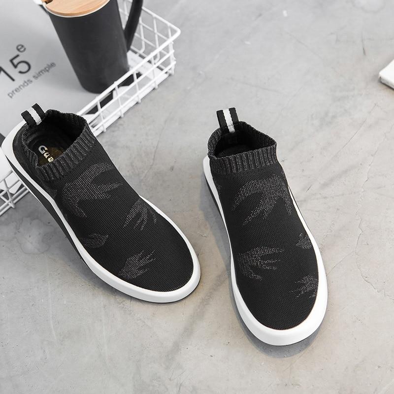 Mens My8118126 Luxo Masculinos Black Respirável Sapatos Da Marca De Moda Verão Malha Casuais gCUwqTg