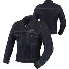 BENKIA Denim Jacket Motocross Bicicleta Motocross Clothing Motorcycle Suit Motocross Gear Jean Jacket