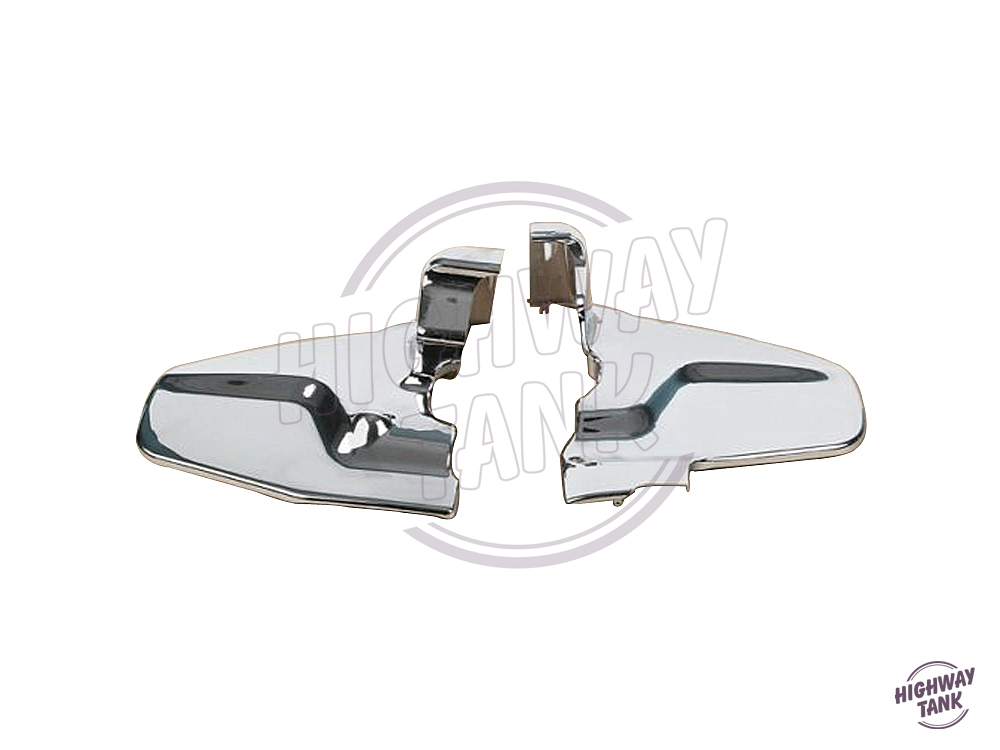 Chrome Plastic Motorcycle Engine Side Cover Motor Protection case for Honda Goldwing GL1800 2001-2011