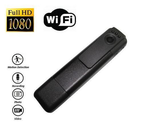 C11 Wifi Pen Camera H.264 Full HD 1080P Mini Camera 145 Degree Wide Angles HDMI Out Mini DV DVR Body Camera Portable Camcorders