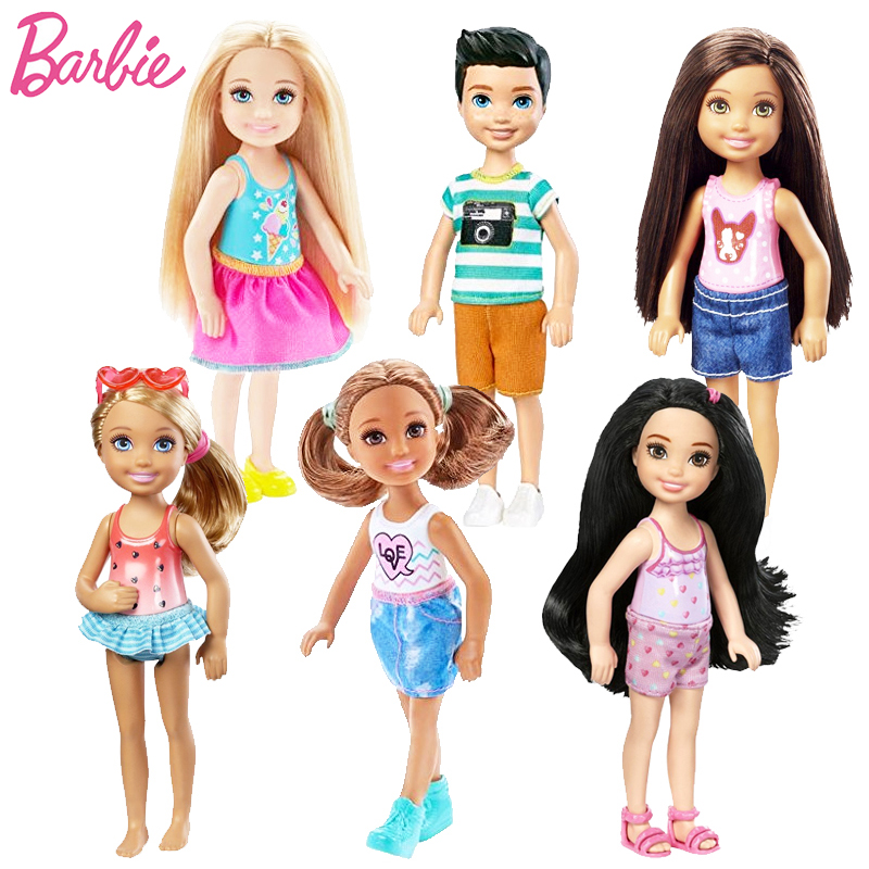 Original Barbie1 Pcs Mini Dolls Original BarbieModel
