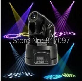 New Qspot 15W LED Moving Head Spot RGB Stage Mini Lighting for Club DJ Party LED Mini Moving Head DMX Spot Stage Light niugul dmx stage light mini 10w led spot moving head light led patterns lamp dj disco lighting 10w led gobo lights chandelier
