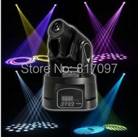 New Qspot 15W LED Moving Head Spot RGB Stage Mini Lighting for Club DJ Party LED Mini Moving Head DMX Spot Stage Light